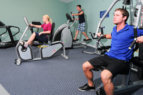 Fitness Center Myrtlewood Villas