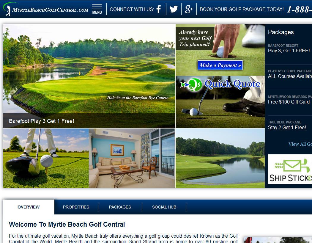 Myrtle Beach Golf Central