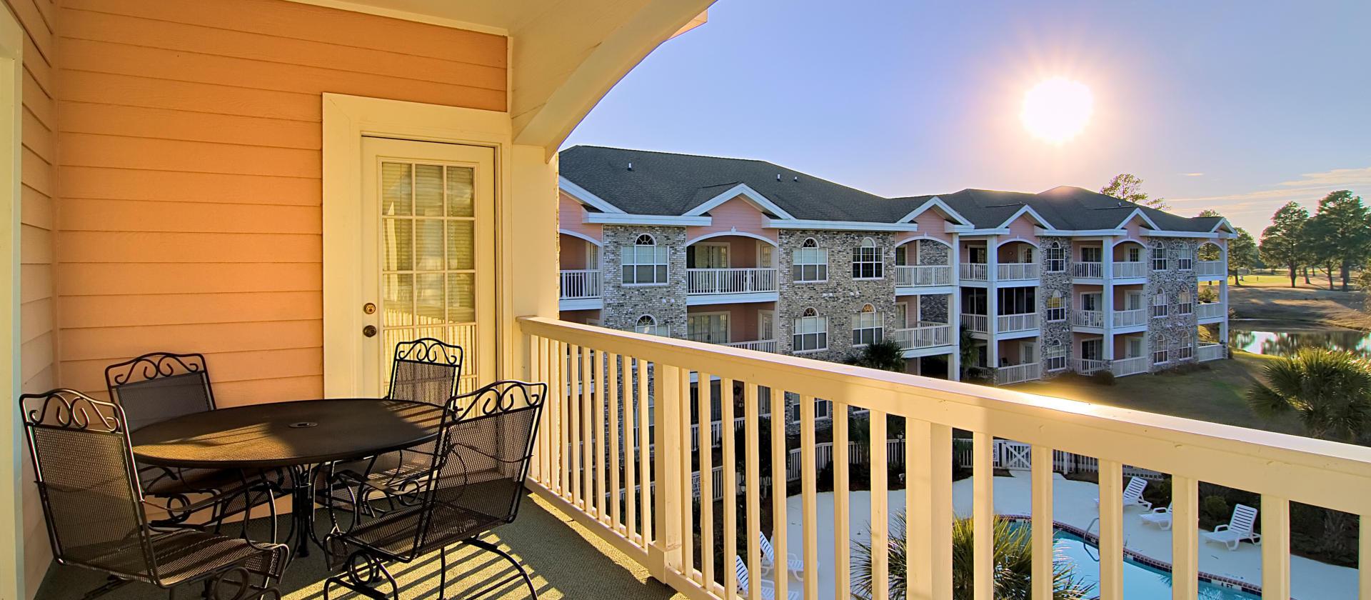 Myrtlewood Villas Balcony