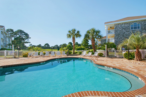 Outdoor Pool Myrtlewood Villas