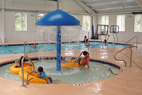 Kiddie Splash Umbrella Myrtlewood Villas